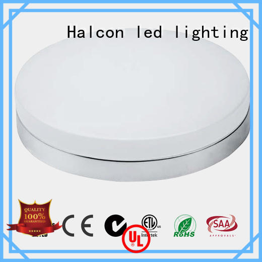 Halcon lighting Brand etl milky led round ceiling light manufacture