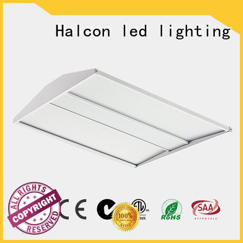 Halcon lighting Brand light milky led panel ceiling lights emergency supplier