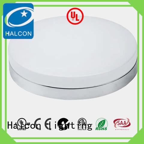 Halcon lighting acrylic led round ceiling light supplier for residential