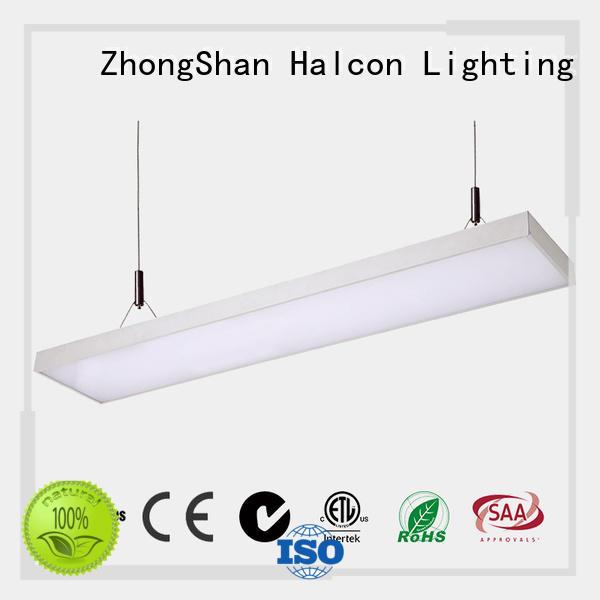 Halcon lighting Brand hanging crystal pendant lighting alluminum supplier