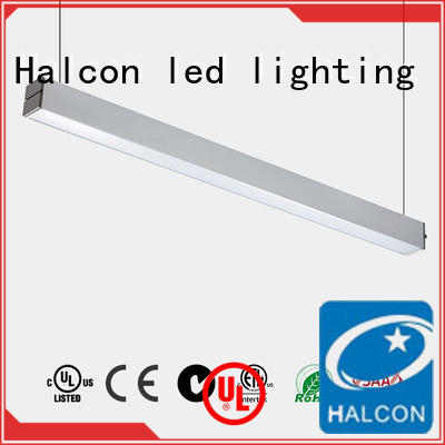 diffuser down pendant led light alluminum Halcon lighting