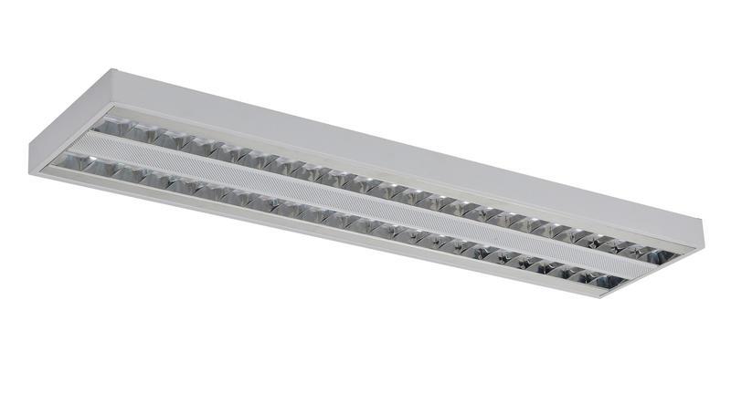 LED Light Low Glare Lumininare 2'x2', 1'x4', 2'x4' UGR<19