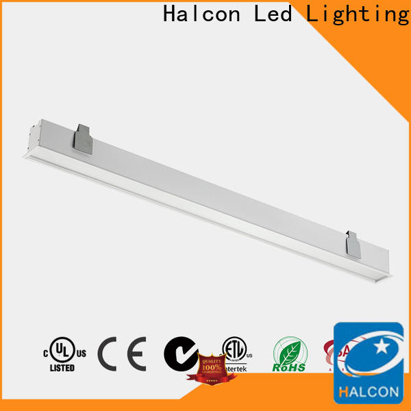 Halcon recessed led shop lights supply for school