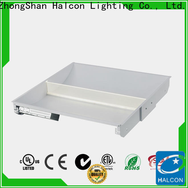 Halcon led troffer light series bulk production