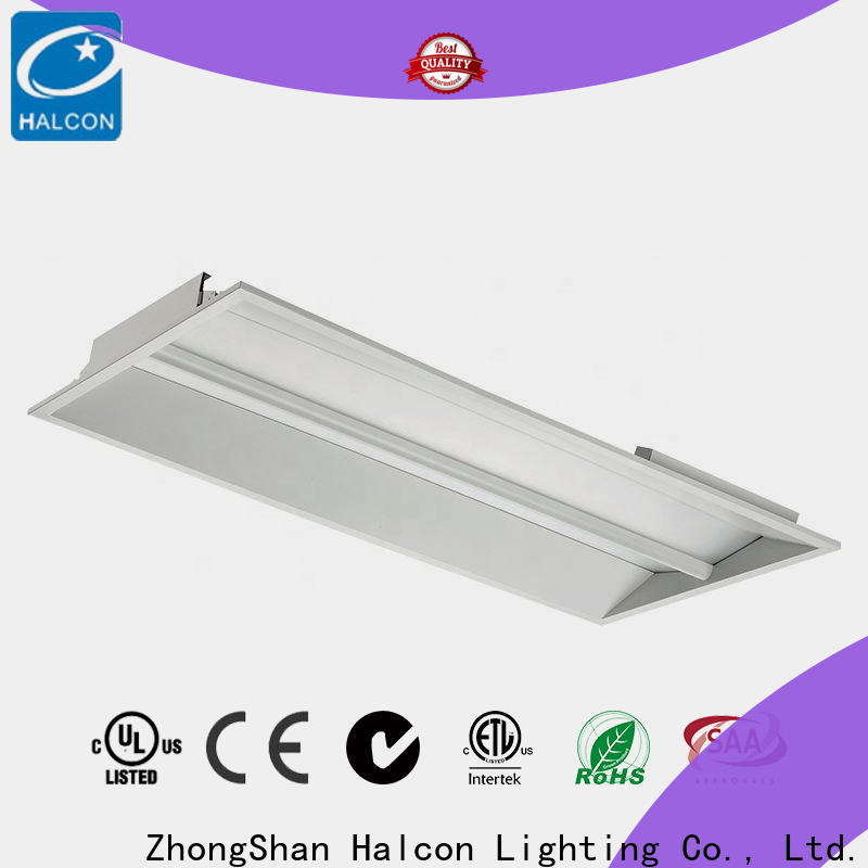 Halcon flat panel led troffer company for warehouse