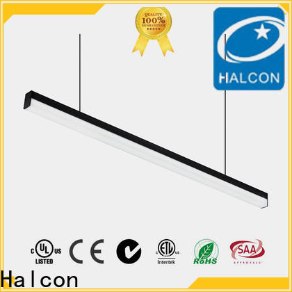 Halcon professional recessed led strip lighting fixtures factory direct supply for living room