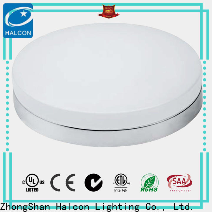 Halcon round ceiling lights led factory direct supply for residential