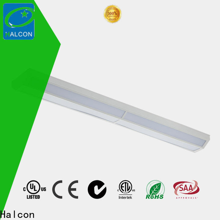 Halcon latest linear recessed led lighting best manufacturer for shop