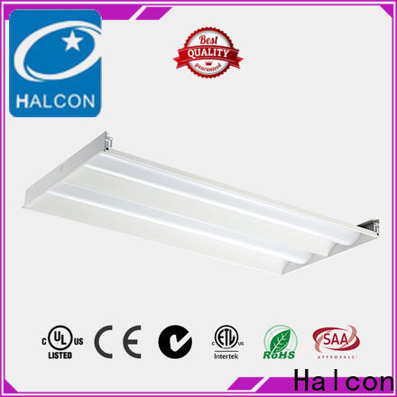 Halcon cheap troffer lights led manufacturer for indoor use