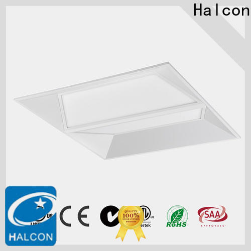 Halcon flat panel led troffer best supplier for office