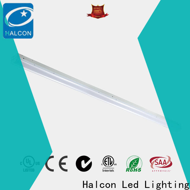 Halcon best value slim led batten lights with good price bulk production
