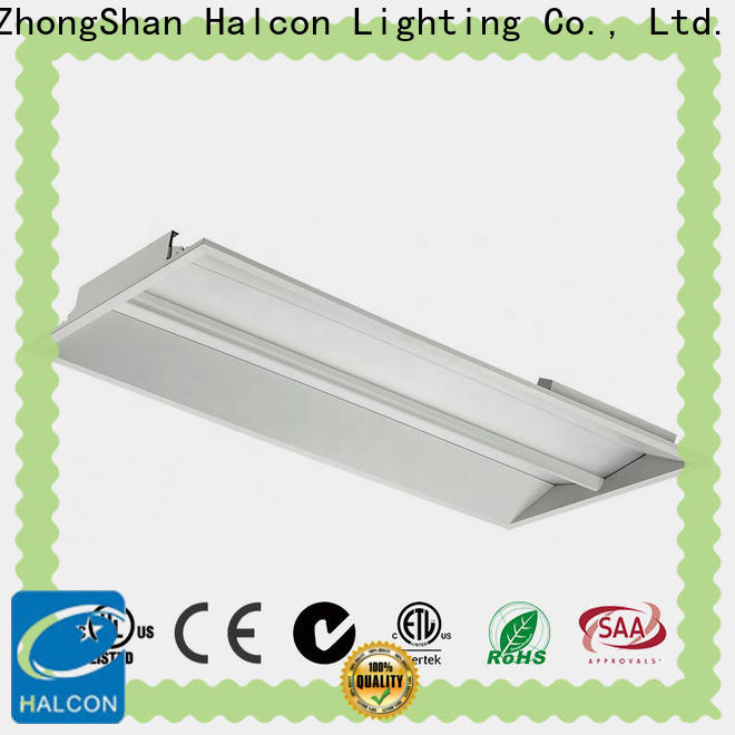 Halcon professional flat panel led troffer supplier for indoor use