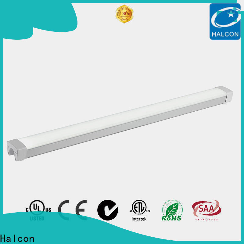 Halcon professional led vapor proof fixture supply for indoor use