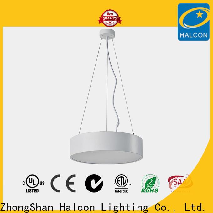Halcon hanging strip lights supplier for school