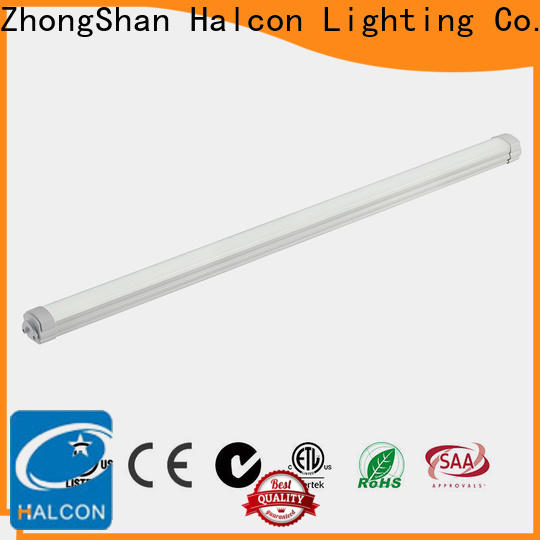 Halcon worldwide vapor proof fluorescent light fixtures series bulk production