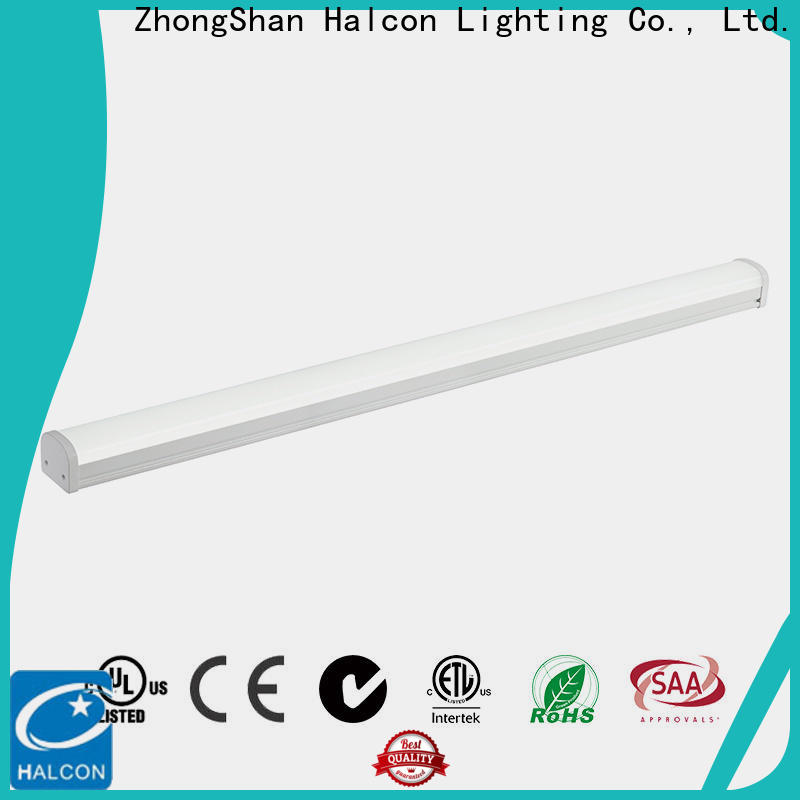 Halcon high-quality vapor proof light fixture factory for promotion