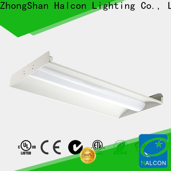 Halcon top quality led troffer panel light factory direct supply for promotion