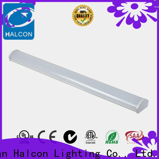 Halcon high quality led linear ceiling lights suppliers for indoor use