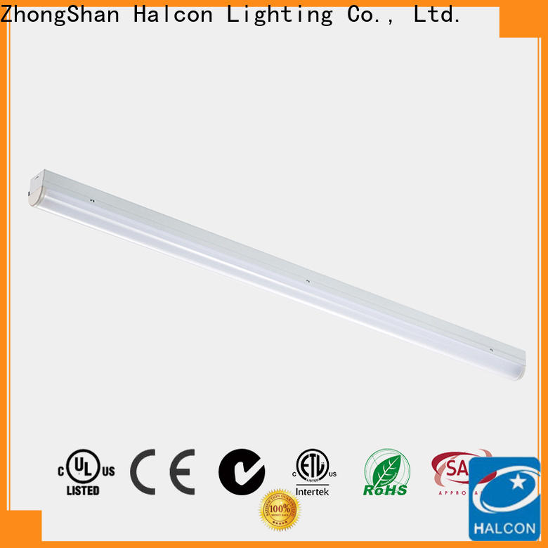 Halcon led batten strip lights factory for sale