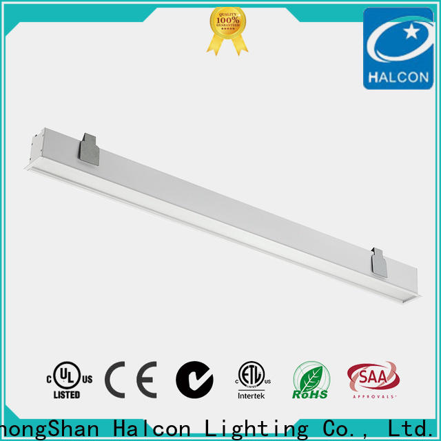 Halcon recessed shop lights series for office