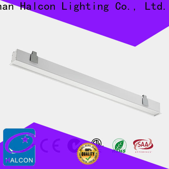 Halcon recessed led shop lights suppliers for school